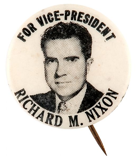 """Who Was Richard Nixon Vice President: """"FOR VICE-PRESIDENT/RICHARD M. NIXON."""""""