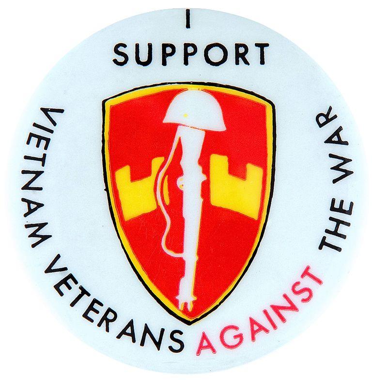 "item detail - ""i support vietnam veterans against the war"" anti"